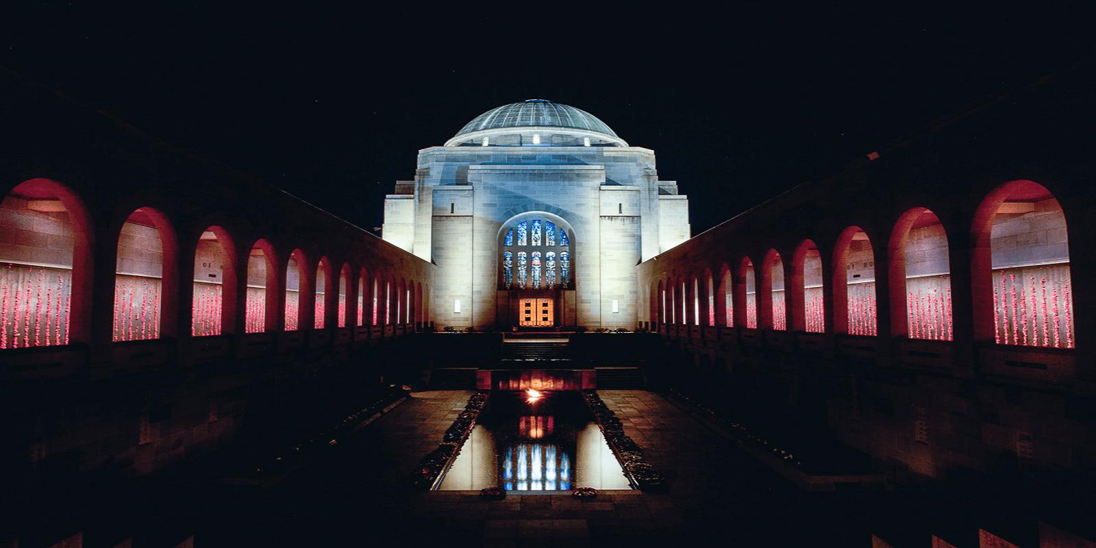 australian war memorial lighting upgrade  u2013 stowe